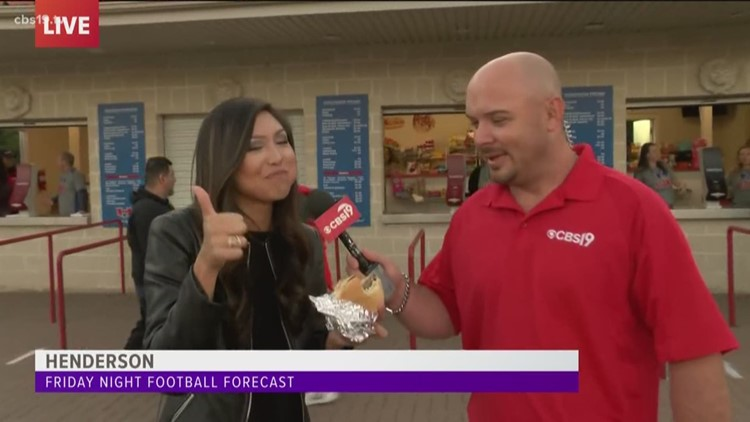 Tina Nguyen Tries Henderson Lions Burger