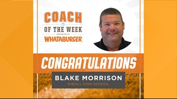 Whataburger Coach of the Week: Blake Morrison
