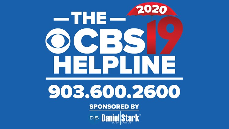 CBS19 Helpline Services Help Sheet