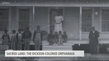 Sacred Land: The history of  Dickson Colored Orphanage Cemetery in Gilmer