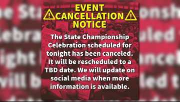Carthage state championship celebration canceled, will be rescheduled for later date