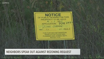 Tyler residents speak out about rezoning request