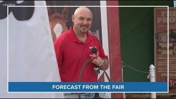 Joel Barnes Lassoing at the State Fair