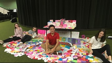 SPREADING LOVE: Longview's Cupid Project hosting community card making event