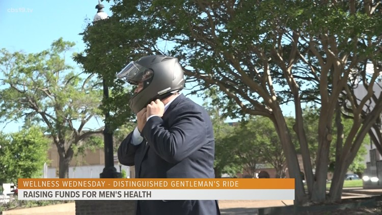 Wellness Wednesday: Distinguished Gentleman's Ride to raise funds for men's health