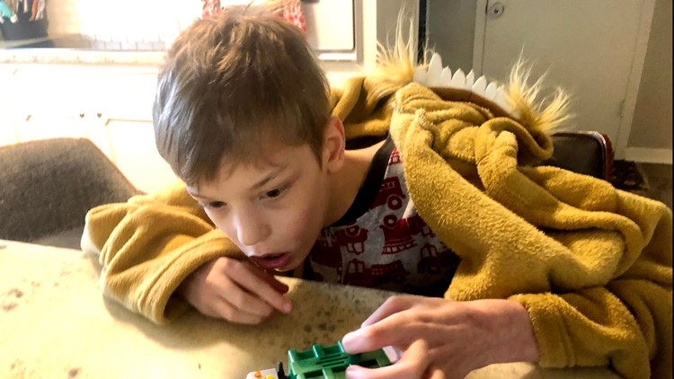 LESSONS LEARNED: Special needs family adjusts to remote learning