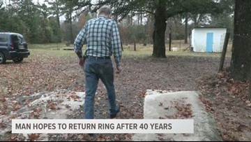 Man Hopes to Return Ring After 40 Years