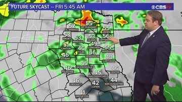 Showers and storms stick around through Friday