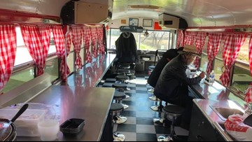 Converted school bus helping serve homeless in Jacksonville