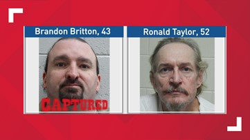 Franklin County authorities searching for escaped inmate