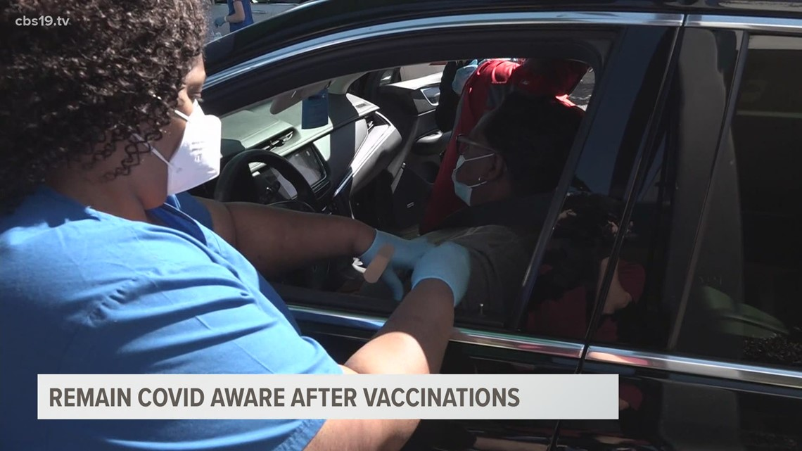 East Texas health officials warn to stay vigilant against COVID-19 amid being fully vaccinated