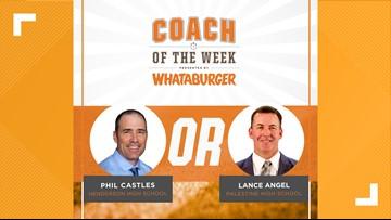 VOTE: Whataburger Coach of the Week - Phil Castles vs. Lance Angel