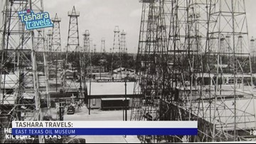 Tashara Travels: East Texas Oil Museum