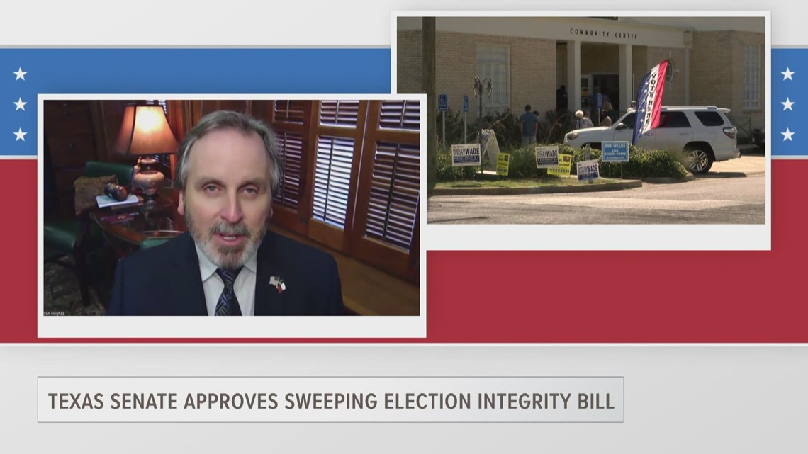 ETX Covered: State Sen. Bryan Hughes on Senate Bill 7 and election integrity, part one