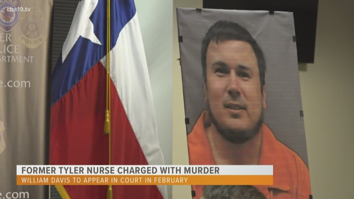CBS19 SPECIAL REPORT: Former Tyler nurse charged with murder, aggravated assault to appear in court in February