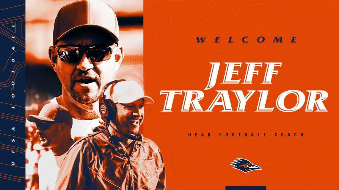 IT'S OFFICIAL: Jeff Traylor signs 5-year deal to become head football coach at UT San Antonio