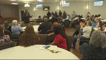 U.S. Senate candidate Royce West talks experience during Tyler visit