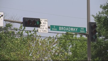 Portion of S. Broadway Ave. closed due to construction