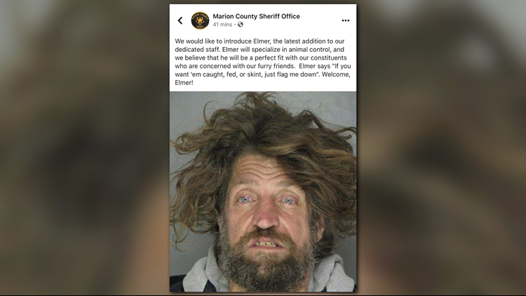 MARION COUNTY SHERIFF: 'Facebook account hacked' when 'joke