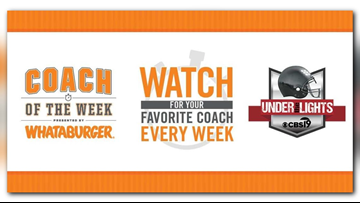 Whataburger, CBS19 team up for 'Coach of the Week' honors