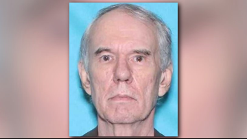 Officials cancel SILVER ALERT after 65-year-old man with dementia located by Jacksonville police