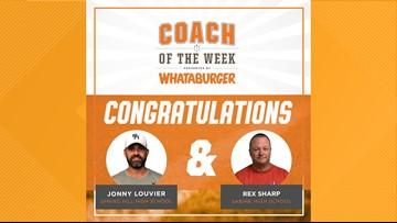 Whataburger Coach of the Week: Jonny Louvier