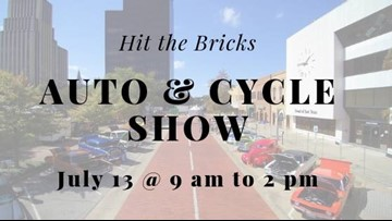 July's 'Hit the Bricks' will Feature Auto & Cycle Show