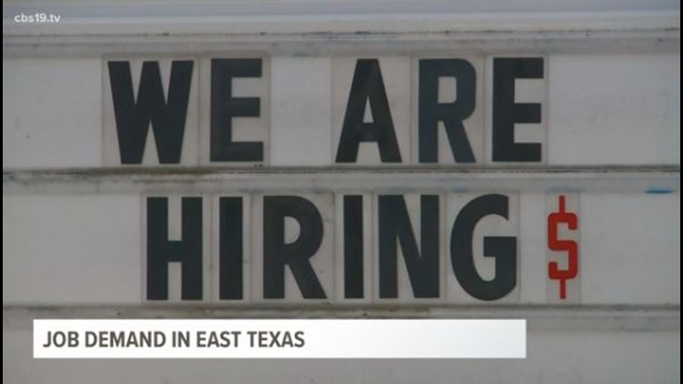 Industries across ETX look to fill open positions