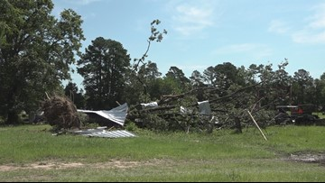 National Weather Service provides details on EF-0 tornado that touched down in Harrison County