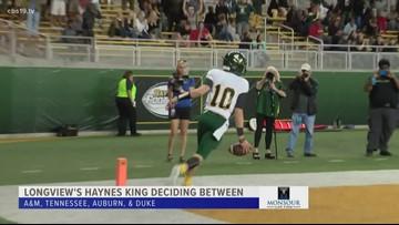 Longview's Haynes King getting love from Power 5 schools