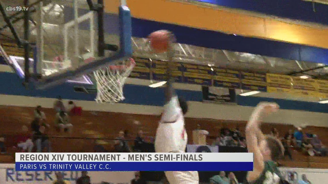 The Trinity Valley Cardinals wake up just in the nick of time to avoid the upset to Paris, punch their ticket to the Region XIV finals.