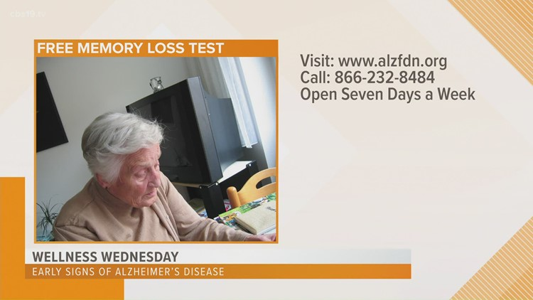 Wellness Wednesday: Early detection of memory loss