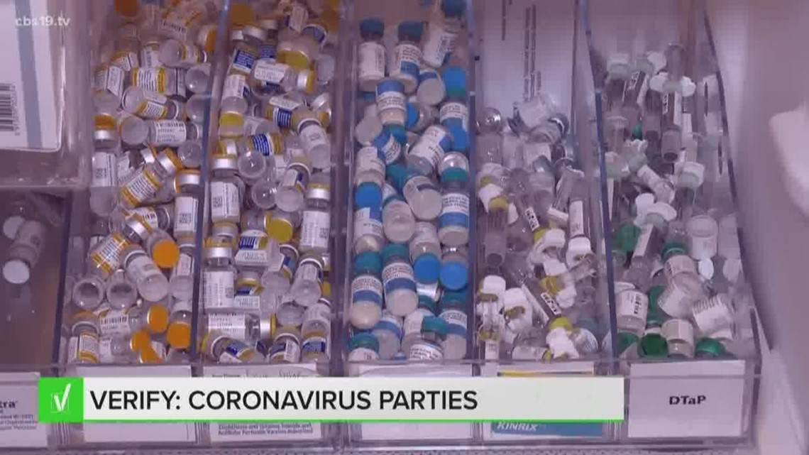 VERIFY: Stay away from 'coronavirus parties,' group settings