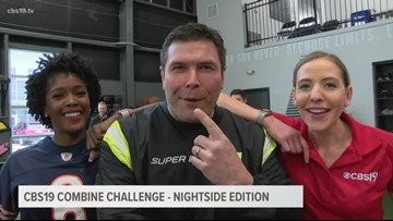 CBS19 Super Bowl Combine Challenge: Nightside Edition