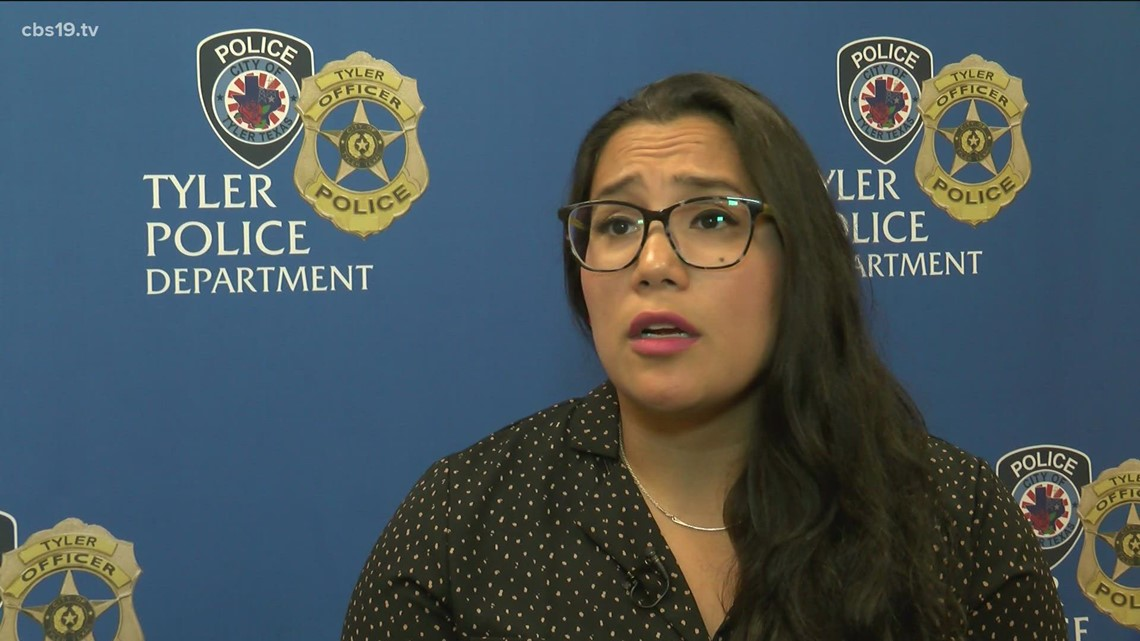 WOMEN IN LAW ENFORCEMENT WEEK: Meet the first Hispanic woman to become a Tyler detective