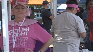 Breast cancer survivors share importance of mammograms at 'Turn Tyler Pink' event