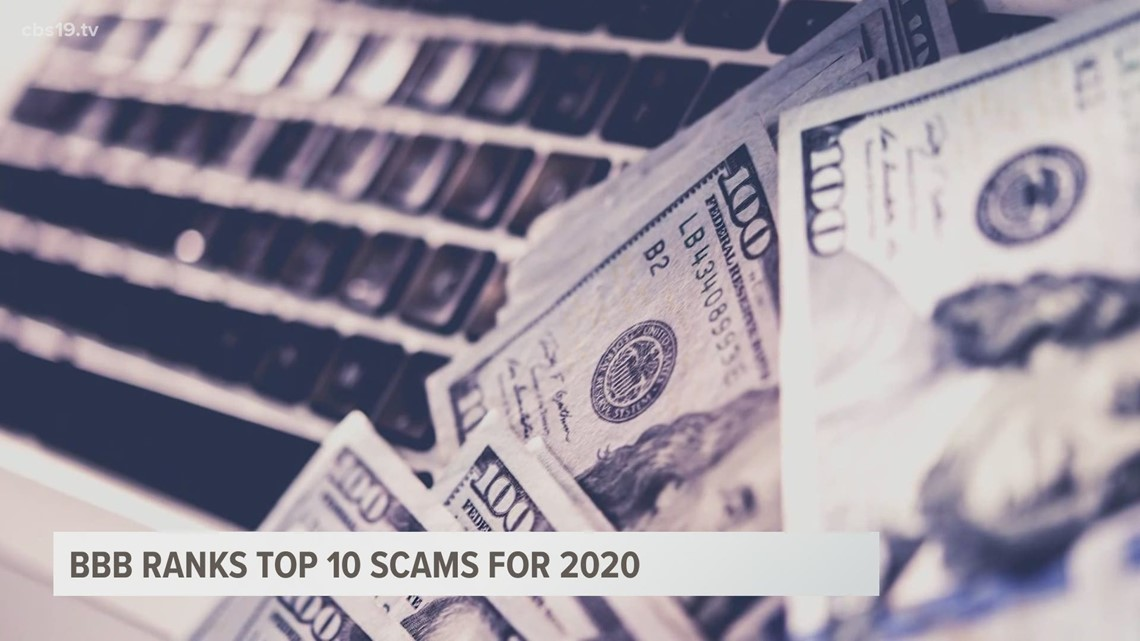 BBB ranks top 10 scams for 2020