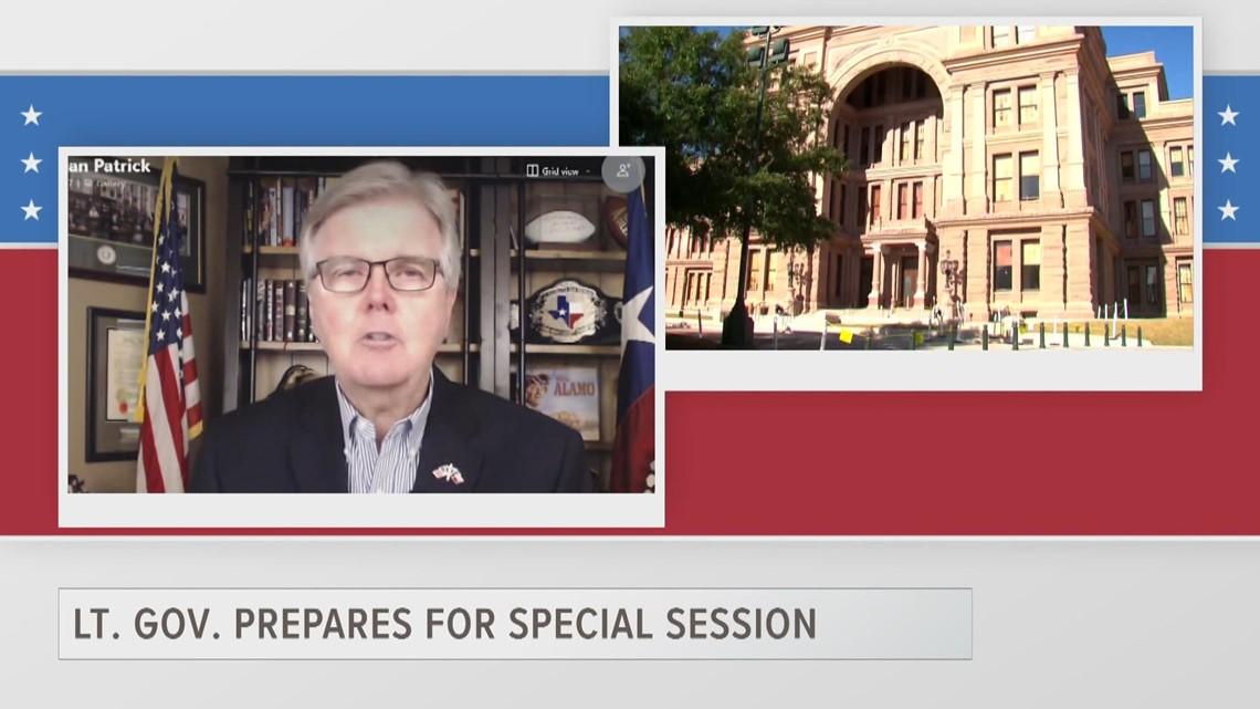 ETX Covered: Lt. Gov. Dan Patrick on SB7, special session