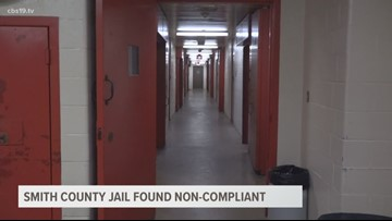 Smith County Jail found non-compliant