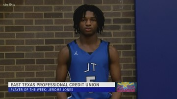 East Texas Professional Credit Union Player of The Week - Jerome Jones