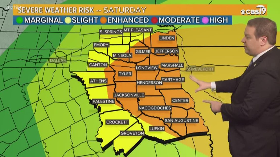 east texas weather forecast from cbs 19