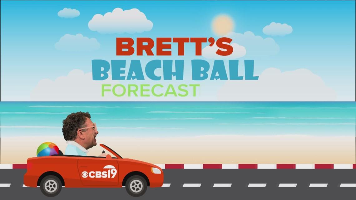 Brett's Beach Ball Forecast - July 22, 2021