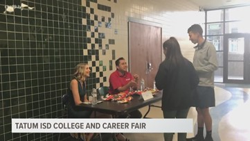 Students at Tatum ISD thinking about the future