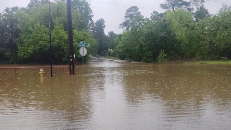 LIST: Areas prone to flooding across East Texas