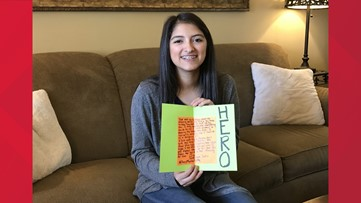 Spreading Kindness: East Texas teen makes thank you cards for police officers