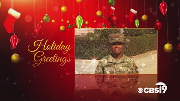 Military Greetings: PFC. Jonica Gillings