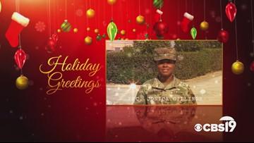Military Greetings: PFC. Jonica Gillings