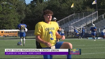 East Texas Professional Credit Union Player of The Week: Kobe Coker