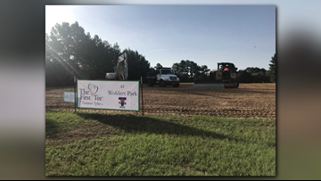 City of Tyler, First Tee of Greater Tyler break ground on new North Tyler learning facility