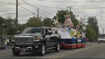 Part of Front Street in Tyler will be closed during Saturday's Texas Rose Festival Parade